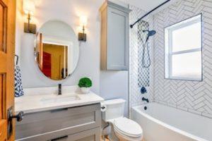 bathroom task light